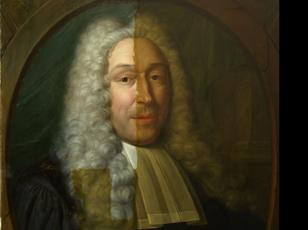 restauratie van schilderijen - tijdens vernisafname