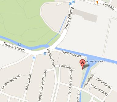 Google maps locatie restauratieatelier