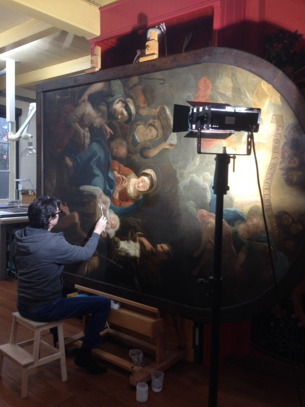 Actueel - restauratie Norbert van Bloemen - altaarstuk