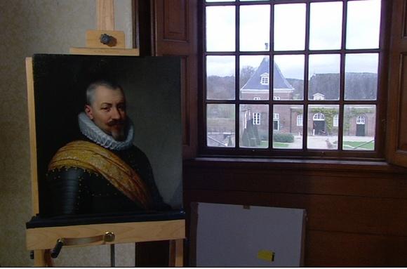 Historische reconstructies - Mierevelt portret Kasteel Amerongen