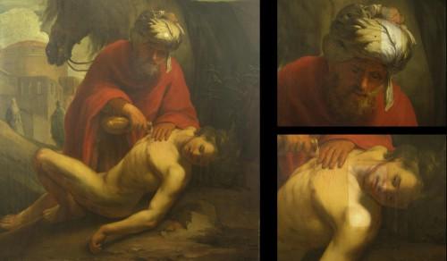 De Barmhartige Samaritaan, Roosendael, 1665 (Frans Hals Museum) - tijdens vernisafname