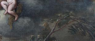 diensten schilderijenrestauratie - na verwijderen overschildering