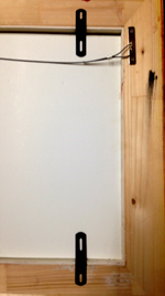 diensten schilderijenrestauratie - goede inlijsting schilderij
