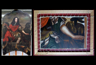 diensten schilderijenreconstructie - Historische reconstructie