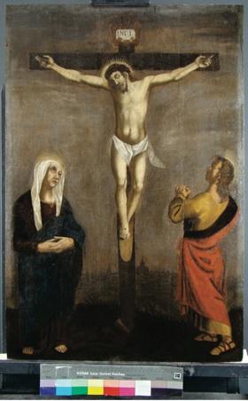 restauratie-Kruisiging na behandeling