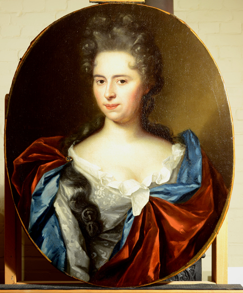 restauratie schilderij portret dame